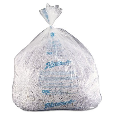 Shredder Bags, 35-60 gal Capacity, 100/BX, Sold as 2 Box, 100 Each per Box
