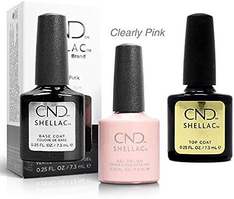 CND, Esmalte de gel de uñas, Pack de 3 x 7.3 ml: Amazon.es: Belleza