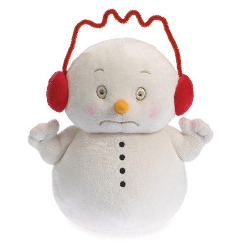 - Boyds Bears Snowpinions Caffeinated Snowman Wearing Earmuffs Christmas Plush Toy