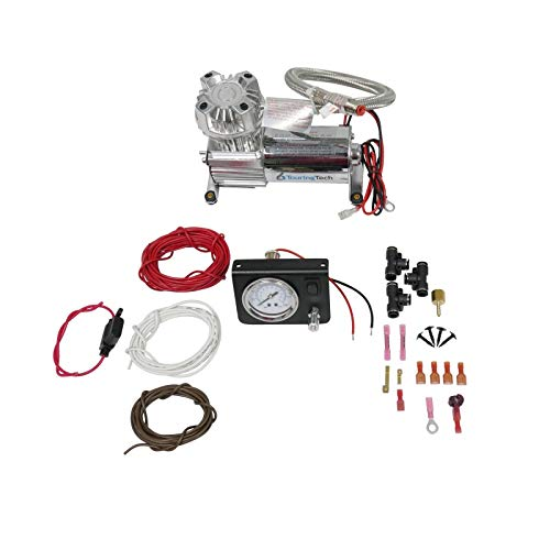 Touring Tech Towing Assist Air Bag Suspension Load Controller On Board Compressor Kit ()