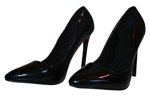 Escarpins Femme Noir Pour Lack Heels Pumps High Erogance wIfCq8