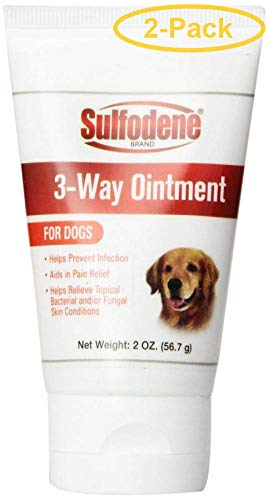 (Sulfodene 3-Way Ointment for Dogs 2 oz - Pack of 2)