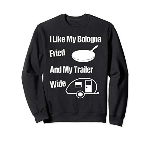 Funny Redneck Gift Idea Sarcastic Camper Trailer Sweatshirt