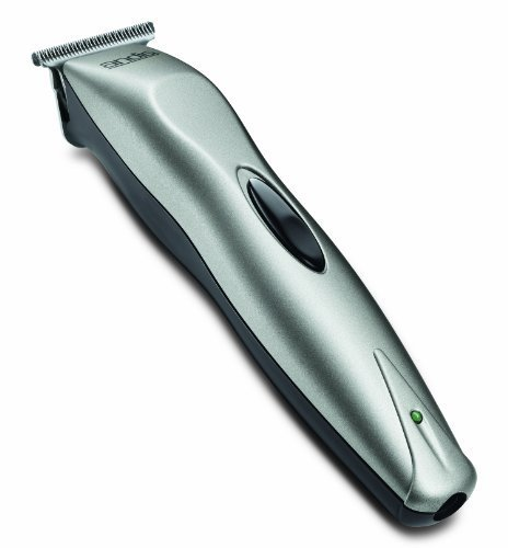 Andis VersaTrim Cord/Cordless Personal Trimmer, Silver (22725) by Andis