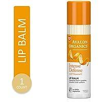 Avalon Organics Intense Defense Lip Balm 0.25 Oz