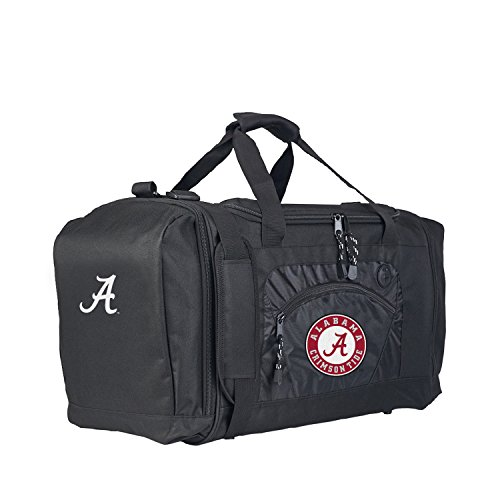 The Northwest Company Officially Licensed NCAA Alabama Crimson Tide Roadblock Duffel Alabama Crimson Tide Nylon Backpack