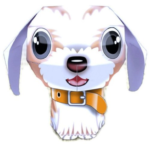 Shih Tzu Dog Chic High Quality Animal Paper Craft Mini Model Easy Fun