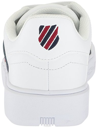 order for sale explore for sale K-Swiss Men's Pershing Court CMF Sneaker White/Navy/Biking Red recommend sale online outlet 2014 fake dhqh6Y