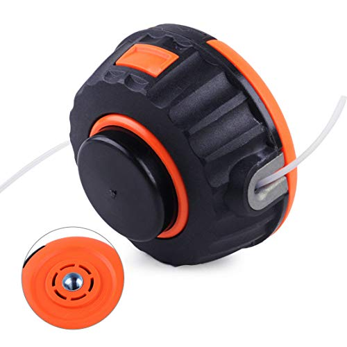 Ineedtech P25 String Trimmer Head Fits Specific Husqvarna 128CD & Poulan Weedeater PP025 PP030 PPB150E PPB330, Replaces OEM # 537419214/537419205