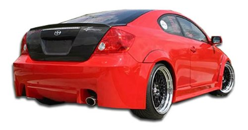 Wide Kit Touring Body (Duraflex Touring Wide Body Rear Bumper Cover - 1 Piece Body Kit - Fits Scion TC - 2005 2006 2007 2008 2009 2010 | 05 06 07 08 09 10 (ED-SIM-550))