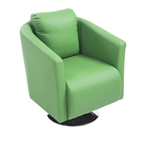 Modern Swivel Club Chair - 8