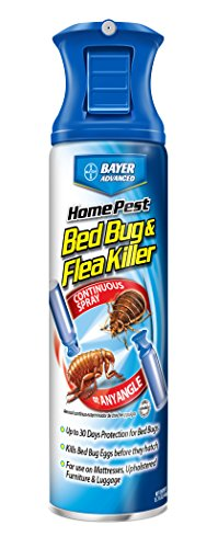 Bayer Advanced 701320 Home Pest Bed Bug and Flea Killer C...