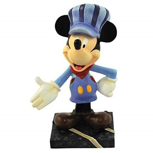 WL All Aboard! Mickey Mouse Mini Figurine in Railroad Conductor Uniform