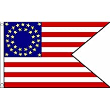 Us Cavalry (Guidon) Flag 5Ft X 3Ft American Civil War Banner With 2 Eyelets New by US Cavalry (Guidon)