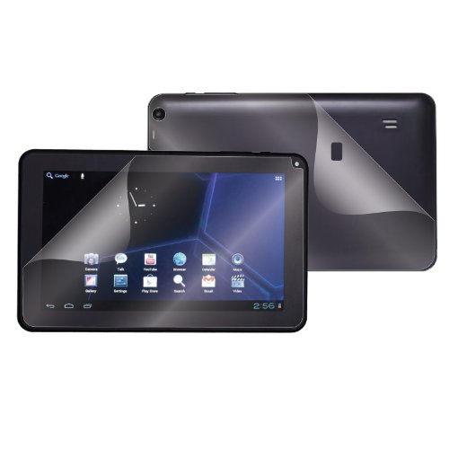 (2-Pack) StealthShields Tablet Full Body Screen Protector for Double Power (DoPo) 9'' D9018 (Ultra Clear) by StealthShields