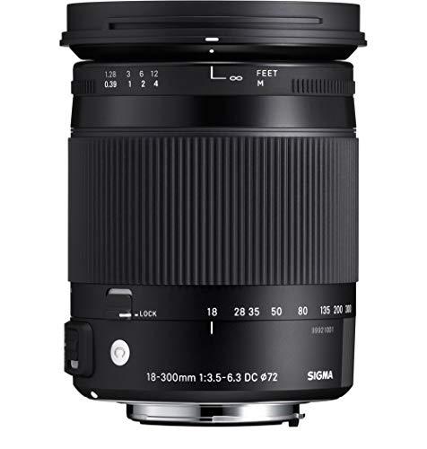 Sigma 18-300mm F3.5-6.3 Contemporary DC Macro OS HSM Lens for Nikon