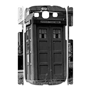 DDOUGS Police Box New Fashion Cell Phone Case for Samsung Galaxy S3 I9300, Customised Samsung Galaxy S3 I9300 Case