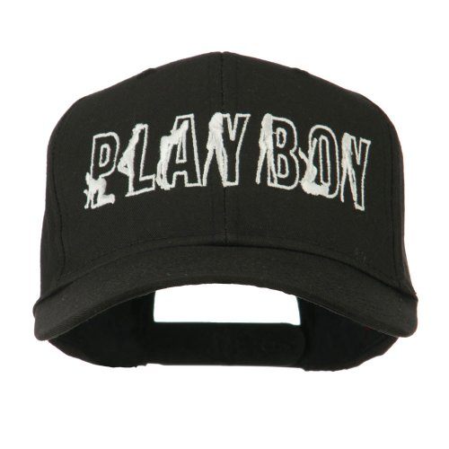 Playboy Embroidered Cap - Black OSFM