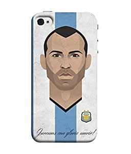 ColorKing Football Masherano Argentina 02 Multicolor shell case cover for Apple iphone 5 / 5s / SE