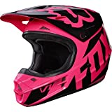 Fox Racing Adult V1 2017 Motocross Dirt Bike Helmet Race Pink Womens Medium
