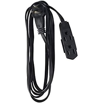 Aurum Cables 12 Feet 3 Outlet Extension Cord 16AWG Indoor/Outdoor ...