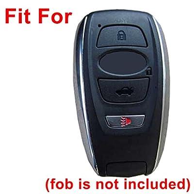 Coolbestda Silicone 4 Buttons Smart Key Fob Cover Remote Case Keyless Protector Skin for 2020 2020 Subaru Forester Sti 2020 2020 Outback Legacy 2015-2020 XV Crosstrek Impreza 2014-2020 BRZ 2016 WRX: Car Electronics