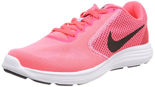 Nike White WMNS Hot REVOLUTION NIKE 602 Pink Aluminum running 3 shoes Women Trail Punch Black A1rApwHq