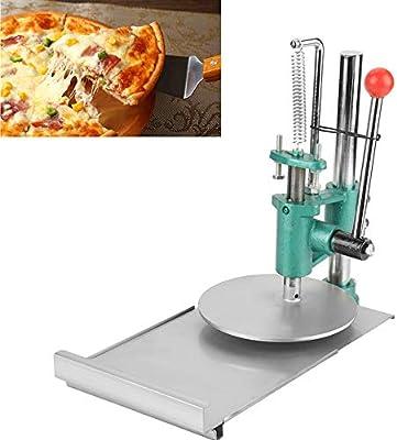 Cocoarm Máquina de la Prensa de la Pasta de la Pizza Rodillo de la Prensa de Masa Prensa de Masa Manual Máquina panificadora para Hacer Pasteles de Pizza, ...