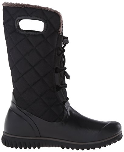 Bogs Mujeres Juno Lace Tall Winter Snow Bota Negro
