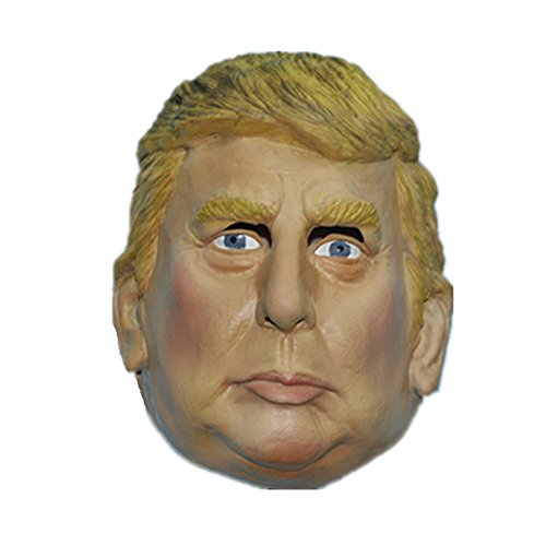Donald Trump Mask- Republican Presidential Candidate - Halloween Celebrity Adult Face ()