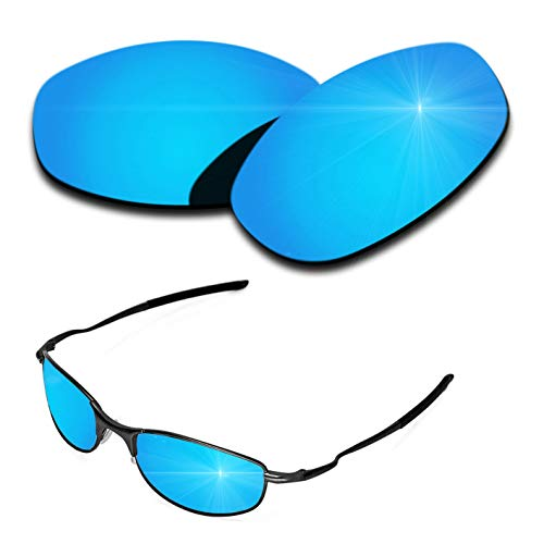 Polarized Replacement Lenses for Oakley Tightrope - Ice Blue Mirrored ()