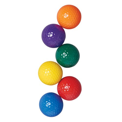 US Games color My Class Golf Balls (Prism Pack)
