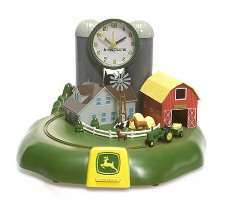 Deere Watch John (Limited Edition John Deere Farm House Tractor and Sound Alarm Clock)