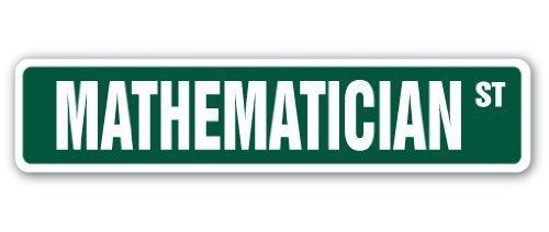 Home Decor símbolo matemático calle signo profesor Instructor estadísticas actuario regalo Economist Metal Sign para al aire libre Patio señal de seguridad signos de aluminio Aersing