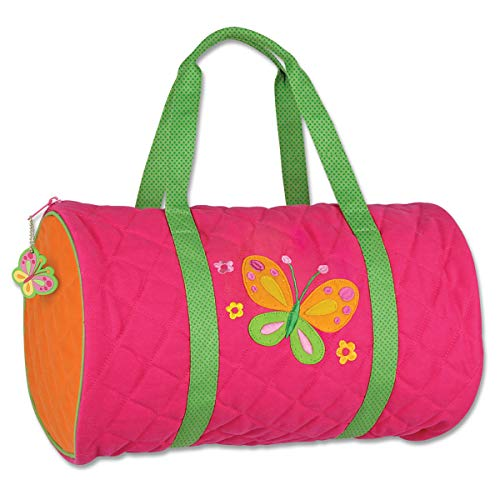 Stephen Joseph Quilted Duffle, Butterfly -