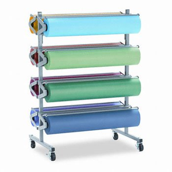 Pacon® Horizontal Rack for Paper Rolls RACK,PAPER,8RL,HORIZONTAL (Pack of2) ()