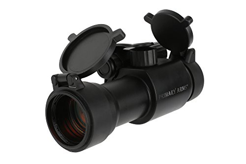 Primary Arms Advanced 30mm 2 MOA Red Dot 14,000 Hours Battery Life BLACK - ()