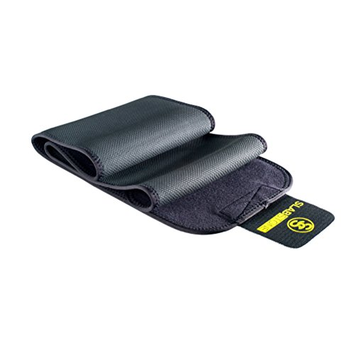 Slabstone Waist Trimmer - Includes FREE Premium Sports Armband - Premium Ab Belt for Men and Women to Help You Loose Belly Fat
