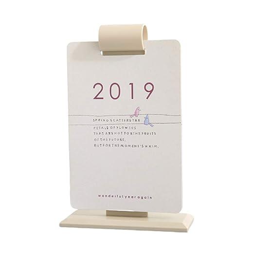 Calendario Calendarios de Escritorio Calendarios d 2019 2020 ...