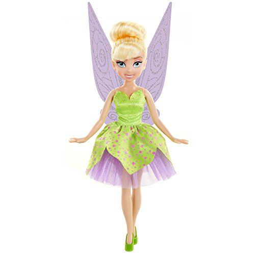Disney Fairies Classic Tink With Dress Doll, Pink/Purple