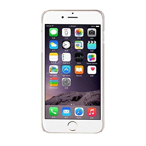 Ukamshop für iPhone 6 Plus charmant Gras blume Muster Schutzhülle Tasche weiß neu case