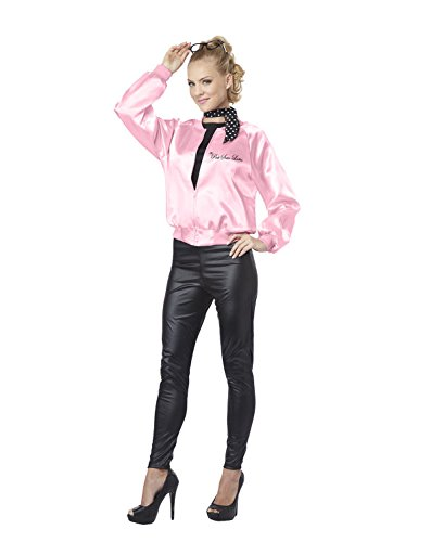 Women's The Pink Satin Ladies Adult, Pink, X-Large (Ladies Satin Tailcoat)