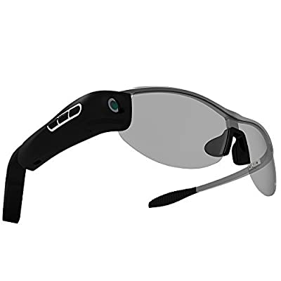 Xwill Smart Glasses Mobile Simulation Video Motion Video Tachograph Bluetooth Voice Glasses Weighs 48 Grams Memory 8G Support Operating System IOS / Android