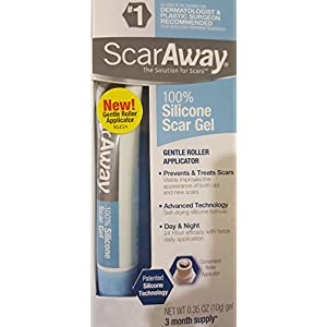 Scaraway Scar Repair Gel with Patented Kelo-cote Technology, 10g