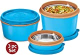 MILTON Insulated Lunch Box/Bento Box - NEW 1'st Microwave Safe Stainless Steel containers