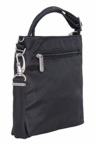 Travelon Anti-Theft Classic Mini Shoulder Bag (One Size, BLACK w/STRIPE Lining) by Travelon (Image #1)