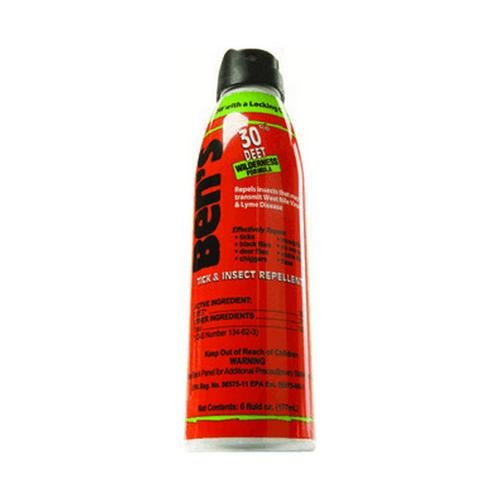 Ben's 30% DEET Mosquito, Tick and Insect Repellent, 6-Ounce Eco - Hours Woodbury Store Outlet