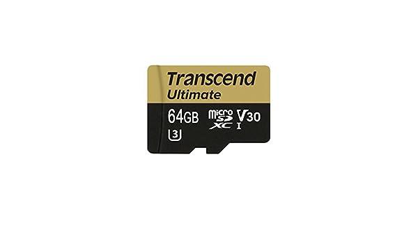 Amazon.com: Transcend Microsd Card UHS-I U3 V30 Compatible ...
