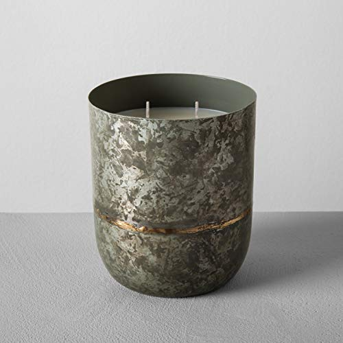 - Hearth and Hand with Magnolia Galvanized Container Soy Candle 25oz Sugared Birch Joanna Gaines Collection Limited Edition