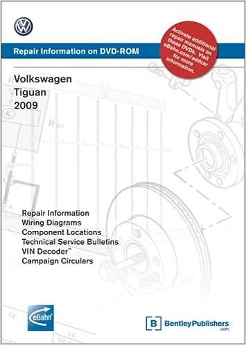 volkswagen tiguan 2009: repair manual on dvd-rom: volkswagen of america:  9780837616117: books - amazon ca